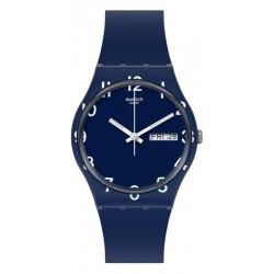 Unisex Swatch Watch Gent Over Blue GN726