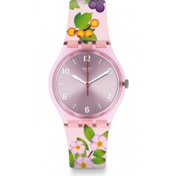 Women's Swatch Watch Gent Merry Berry GP150