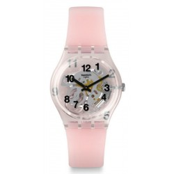 Women's Swatch Watch Gent Pink Board GP158