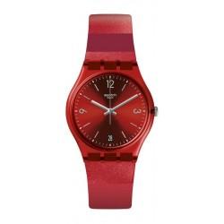 Unisex Swatch Watch Gent Ruberalda GR406