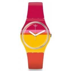 Buy Women's Swatch Watch Gent Roug'Heure GW198