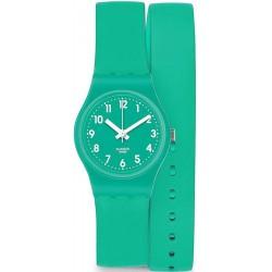 Women's Swatch Watch Lady Mint Leave LL115