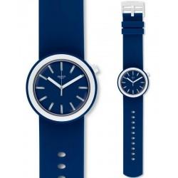 Buy Unisex Swatch Watch NavyPOP PNN103