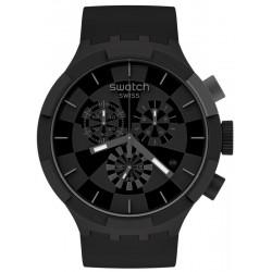 Buy Swatch Watch Big Bold Chrono Checkpoint Black SB02B400