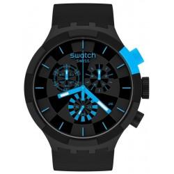 Buy Swatch Watch Big Bold Chrono Checkpoint Blue SB02B401