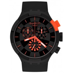 Buy Swatch Watch Big Bold Chrono Checkpoint Red SB02B402