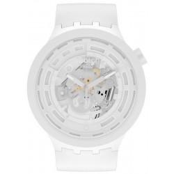 Buy Swatch Watch Big Bold C-White SB03W100