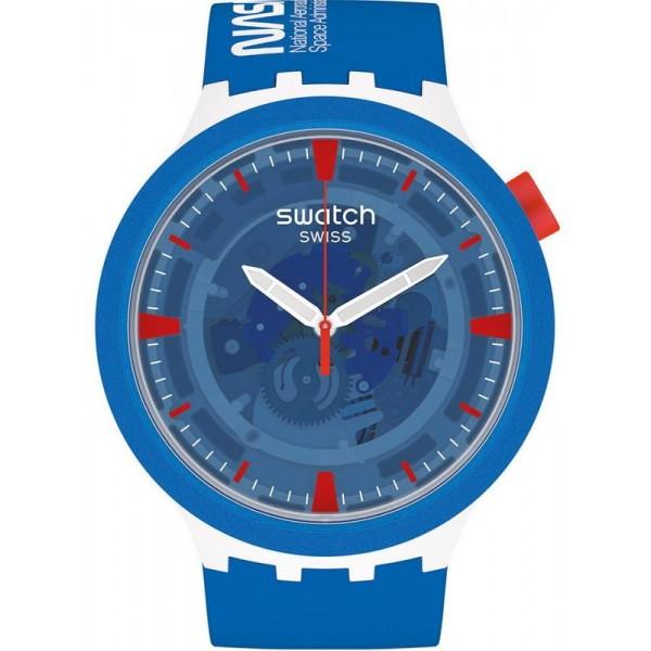 Buy Swatch Watch Big Bold Jumpsuit NASA SB03Z100