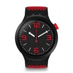 Men's Swatch Watch Big Bold BBBlood SO27B102