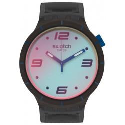 Swatch Watch Big Bold Futuristic Grey SO27B121