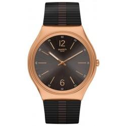 Buy Mens Swatch Watch Skin Irony Bienne By Night SS07G102