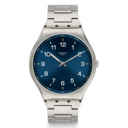 Buy Mens Swatch Watch Skin Irony Skin Suit Blue SS07S106G