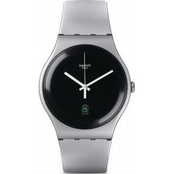 Unisex Swatch Watch New Gent Be Charged SUOB401