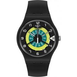 Unisex Swatch Watch New Gent Keep Turning SUOB732