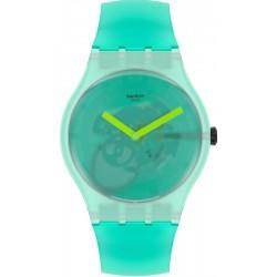 Unisex Swatch Watch New Gent Nature Blur SUOG119