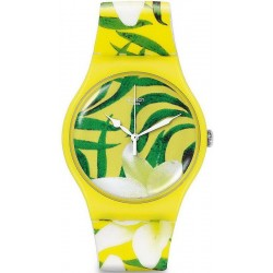 Women's Swatch Watch New Gent Limbo Dance SUOJ104