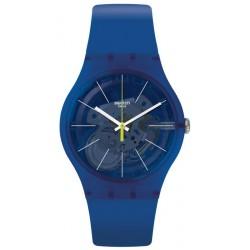 Unisex Swatch Watch New Gent Blue Sirup SUON142