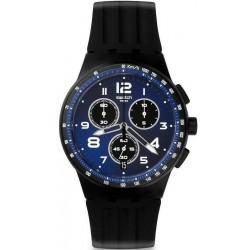 Buy Unisex Swatch Watch Chrono Plastic Nitespeed SUSB402 Chronograph