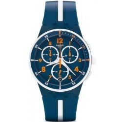 Buy Men's Swatch Watch Chrono Plastic Whitespeed SUSN403 Chronograph