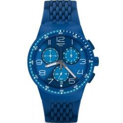 Buy Unisex Swatch Watch Chrono Plastic Triple Blu SUSN415 Chronograph