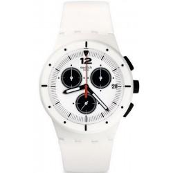 Buy Unisex Swatch Watch Chrono Plastic Why Again SUSW406 Chronograph