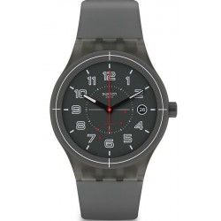 Buy Unisex Swatch Watch Sistem51 Sistem Ash SUTM401 Automatic