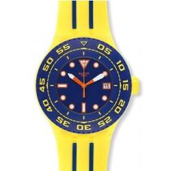 Unisex Swatch Watch Scuba Libre Playero SUUJ400