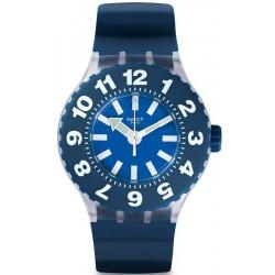 Men's Swatch Watch Scuba Libre Die Blaue SUUK112