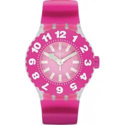 Women's Swatch Watch Scuba Libre Die Rose SUUK113
