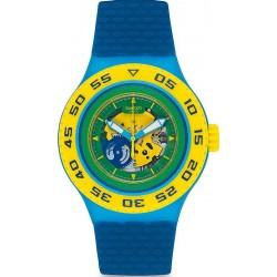 Unisex Swatch Watch Scuba Libre Infrario SUUS102