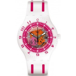 Unisex Swatch Watch Scuba Libre Feel The Wave SUUW101