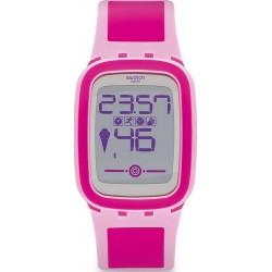 Women's Swatch Watch Digital Touch Zero One Pinkzero SUVP100