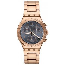 Unisex Swatch Watch Irony Chrono Elegantum YCG418G Chronograph