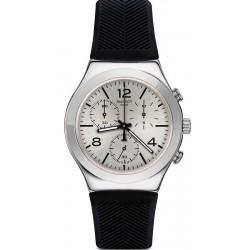 Unisex Swatch Watch Irony Chrono Neramente YCS111C Chronograph