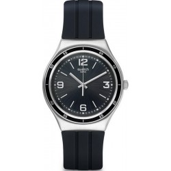 Men's Swatch Watch Irony Big Shiny Black YGS132