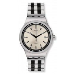 Buy Men's Swatch Watch Irony Sistem51 Sistem Silverline YIS424G Automatic
