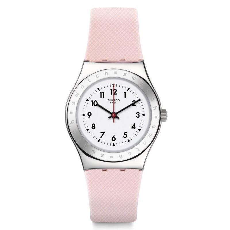 Women S Swatch Watch Irony Medium Pink Reflexion Yls200