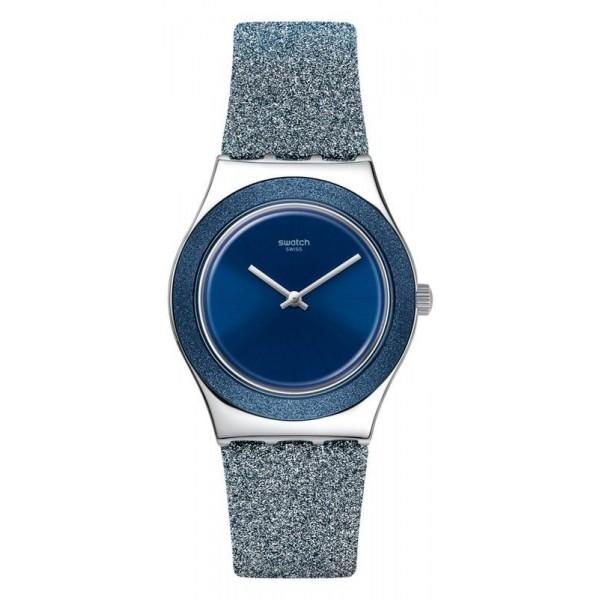Buy Womens Swatch Watch Irony Medium Blue Sparkle YLS221