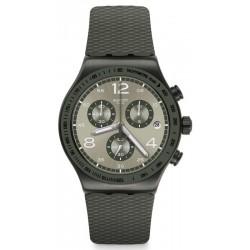 Men's Swatch Watch Irony Chrono Turf Wrist YVM404 Chronograph