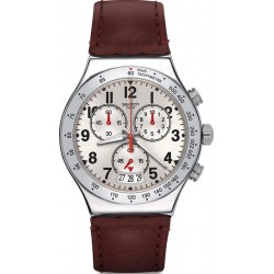 Men's Swatch Watch Irony Chrono Destination Roma YVS431 Chronograph