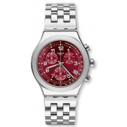 Unisex Swatch Watch Irony Chrono Secret Doc YVS456G Chronograph