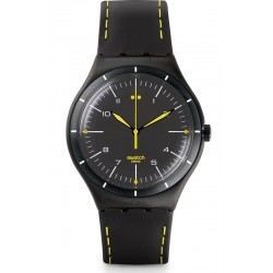 Buy Men's Swatch Watch Irony Big Classic Black Bliss YWB100