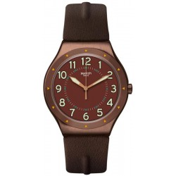 Buy Mens Swatch Watch Irony Big Classic Copper Time YWC100