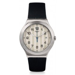 Buy Men's Swatch Watch Irony Big Classic Côtes Silver YWS437