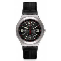 Buy Men's Swatch Watch Irony Big Classic Black Grid YWS444