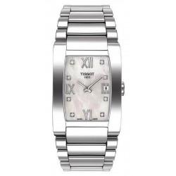Buy Women's Tissot Watch Generosi-T T0073091111600 Diamonds Mother of Pearl