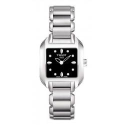 Women's Tissot Watch T-Lady T-Wave T02128554 Diamonds Quartz