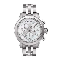 Buy Women's Tissot Watch PRC 200 Chronograph T0552171111300 Mother of Pearl