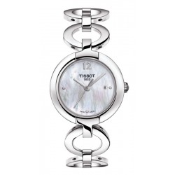 Women's Tissot Watch T-Lady Pinky T0842101111701 Mother of Pearl