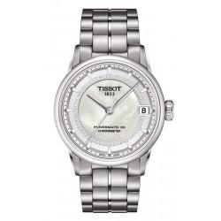 Buy Women's Tissot Watch Luxury Powermatic 80 COSC T0862081111600 Diamonds